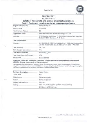 IECtestReport